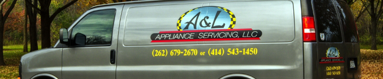 A&L Appliance Servicing service truck for HVAC work