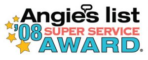 Angies List Super Service Award from 2008