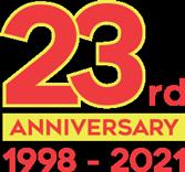 23rd Anniversary 1998-2021